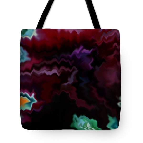 Tote Bag featuring the mixed media Grief by Patricia Griffin Brett