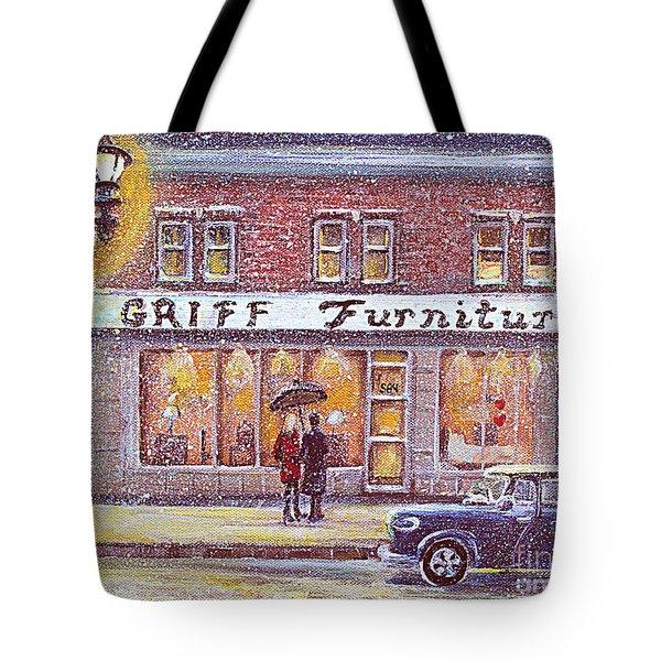 Griff Valentines' Birthday Tote Bag