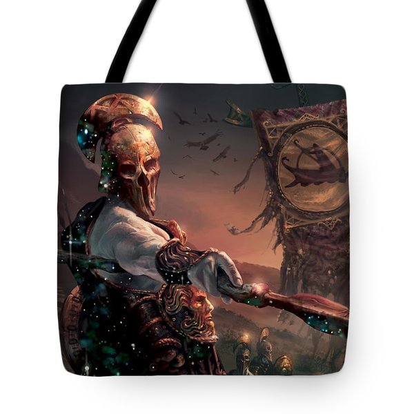 Grim Guardian Tote Bag