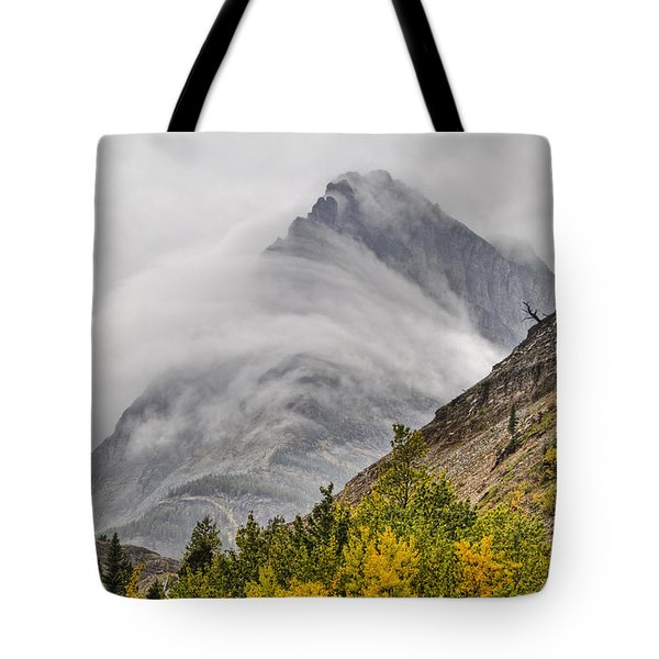 Grinnell Cloud Wrap Tote Bag