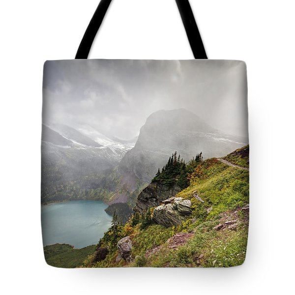 Grinnell Glacier Trail Tote Bag