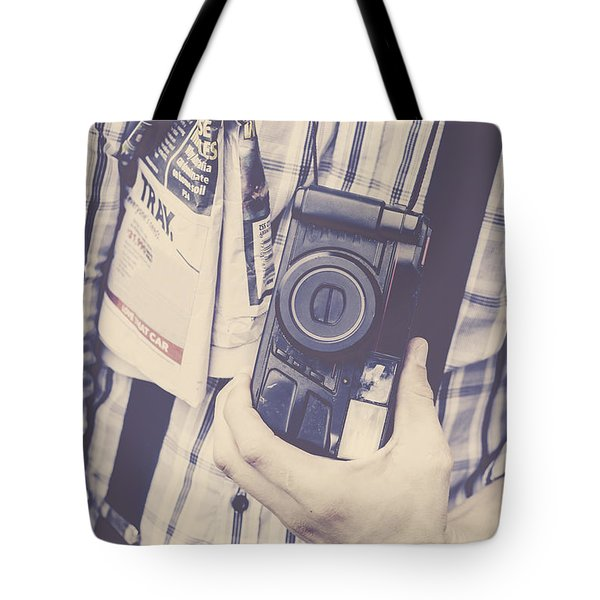 Gripping News Story Tote Bag