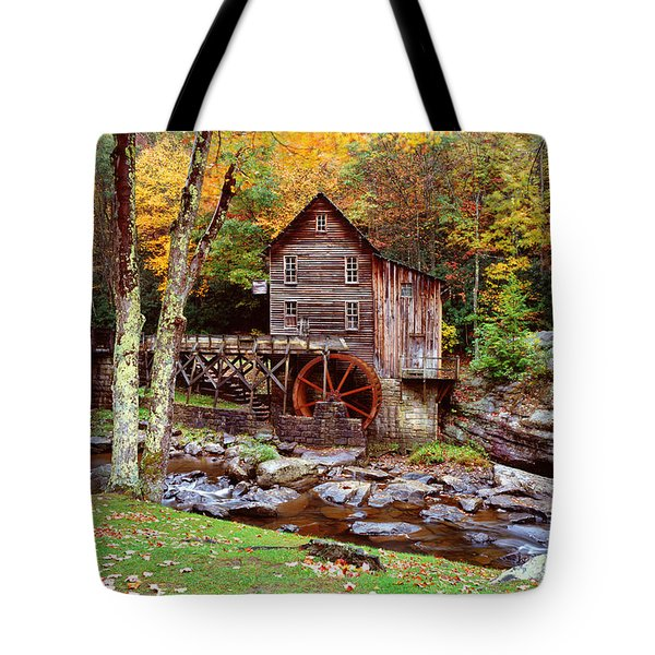 Grist Mill In Babcock St. Park Tote Bag