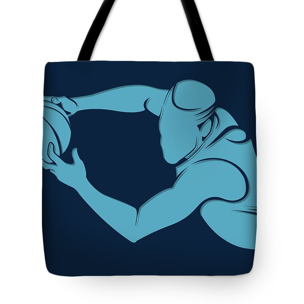 Grizzlies Shadow Player2 Tote Bag