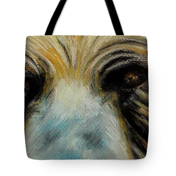 Grizzly Eyes Tote Bag