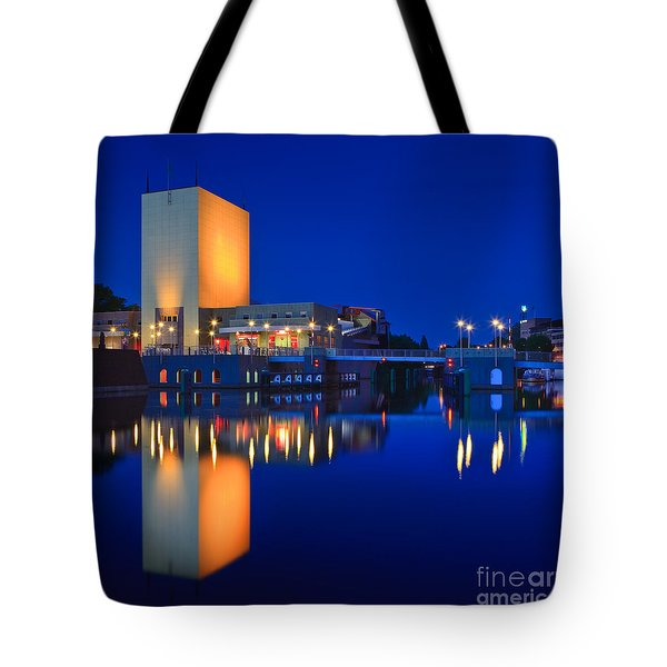 An Evening In Groningen Tote Bag