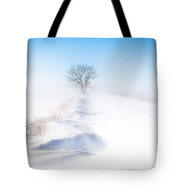 Ground Blizzard Tote Bag