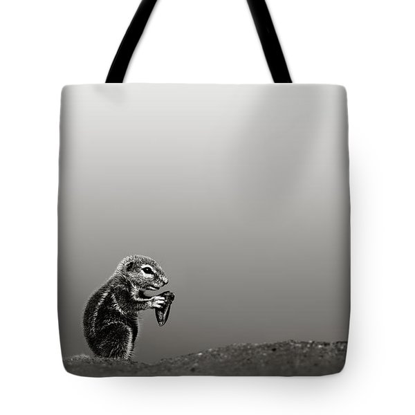 Ground Squirrel Tote Bag by Johan Swanepoel