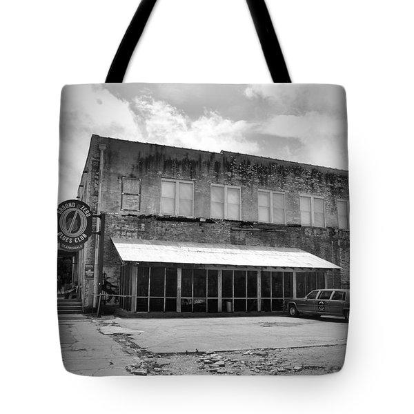 Ground Zero Black And White Tote Bag
