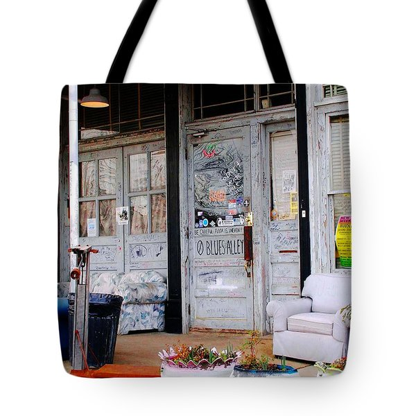 Ground Zero Clarksdale Mississippi Tote Bag