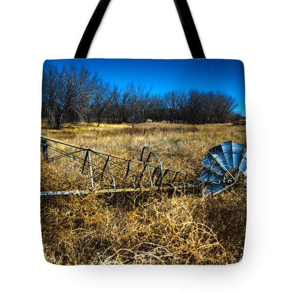 Grounded-hdr Tote Bag