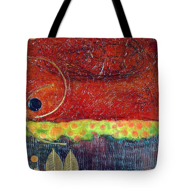 Tote Bag featuring the painting Grounded by Phyllis Howard