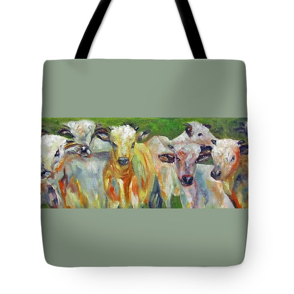 The Gathering, Cattle   Tote Bag