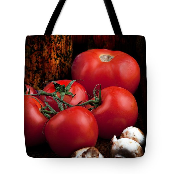 Group Of Vegetables Tote Bag