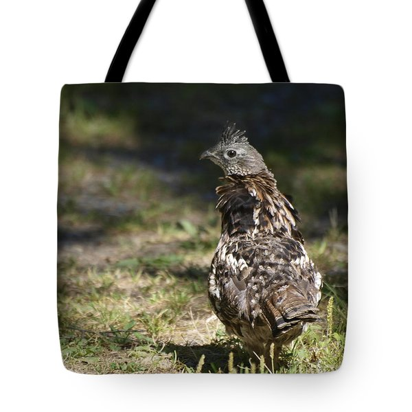 Grouse Hunter Tote Bag
