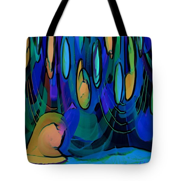 Grow Where You Are Planted Tote Bag by Alec Drake