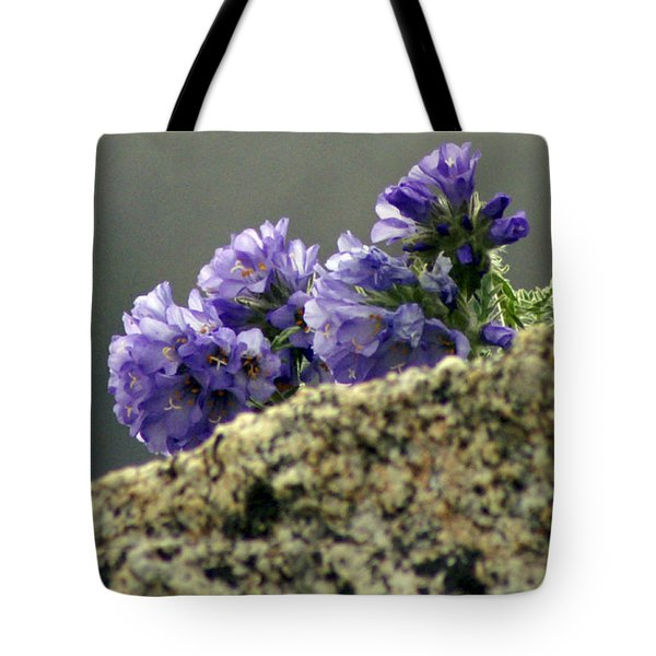 Tote Bag featuring the photograph Growing In Granite by Jeremy Rhoades