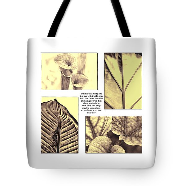 Tote Bag featuring the photograph Growth by John Hansen
