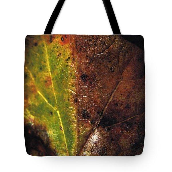 Growth-leaf Tote Bag