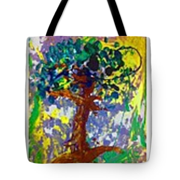 Growth Tote Bag by Luz Elena Aponte