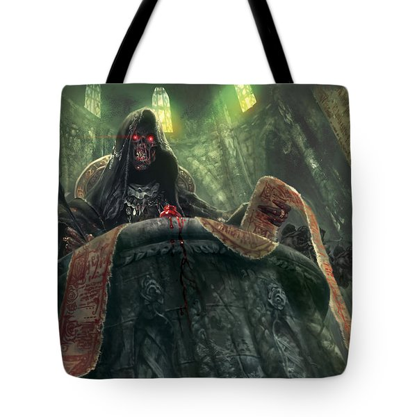 Grudge Keeper Tote Bag