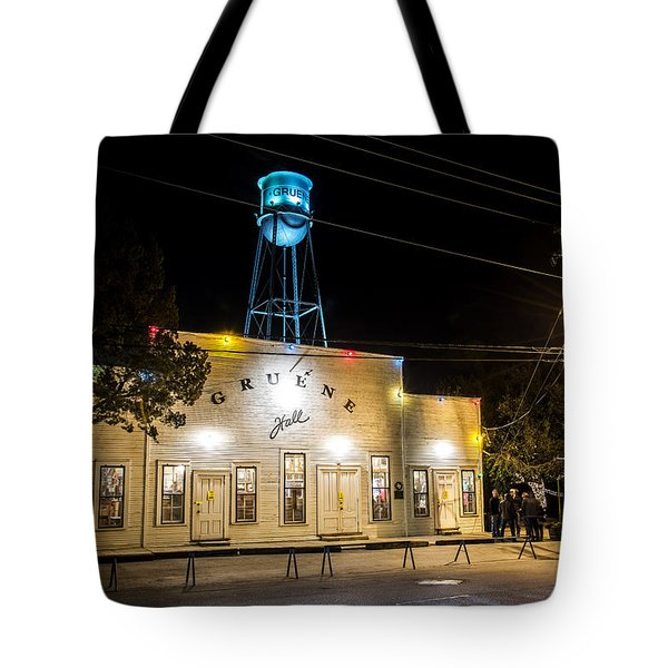 Gruene Hall Tote Bag