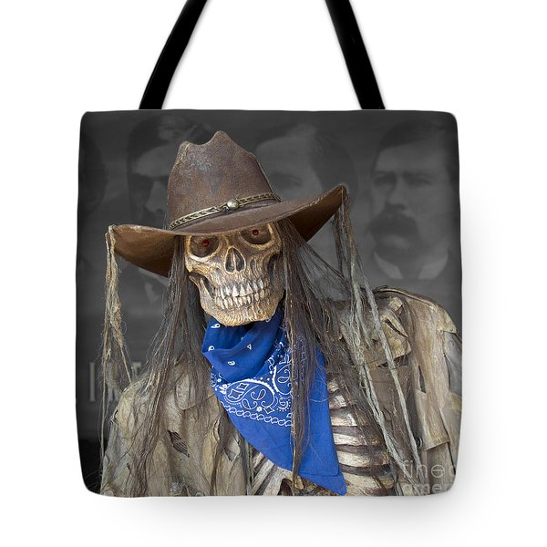 Tote Bag featuring the photograph Gruesome Greg by Sharon Seaward