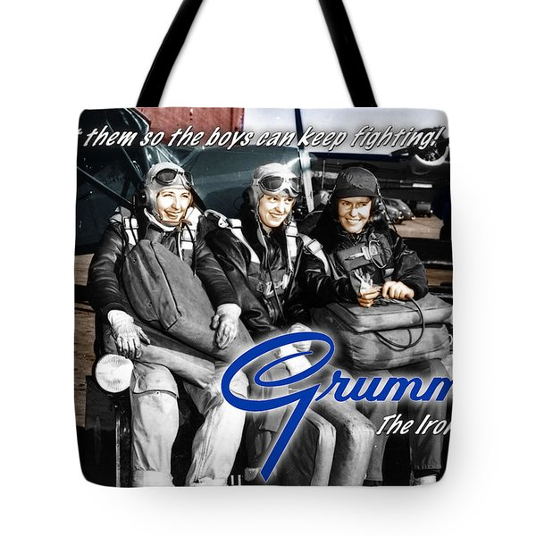 Grumman Test Pilots Tote Bag