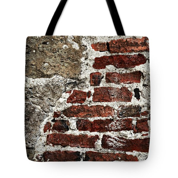 Grunge Brick Wall Tote Bag