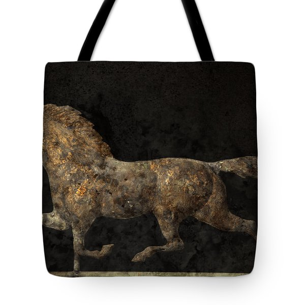 Grungy Antique Weathervane Tote Bag by John Stephens