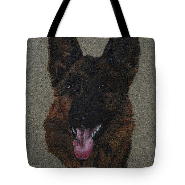 GSD Tote Bag by Susan Herber