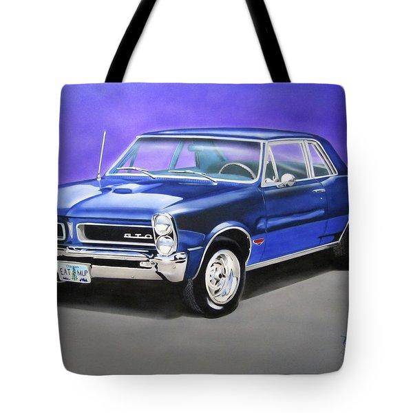 Gto 1965 Tote Bag by Thomas J Herring