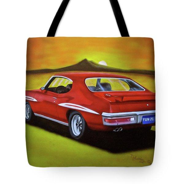 Gto 1971 Tote Bag by Thomas J Herring