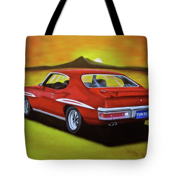 Gto 1971 Tote Bag
