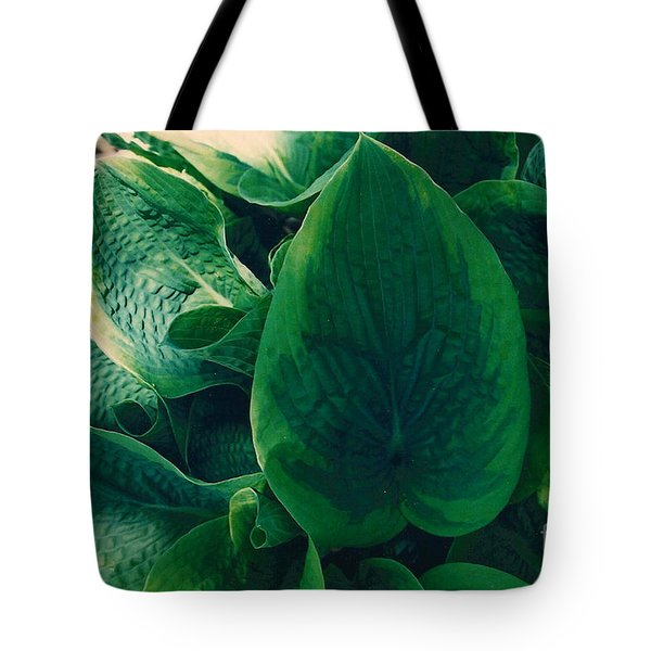 Guacamole Hosta Tote Bag