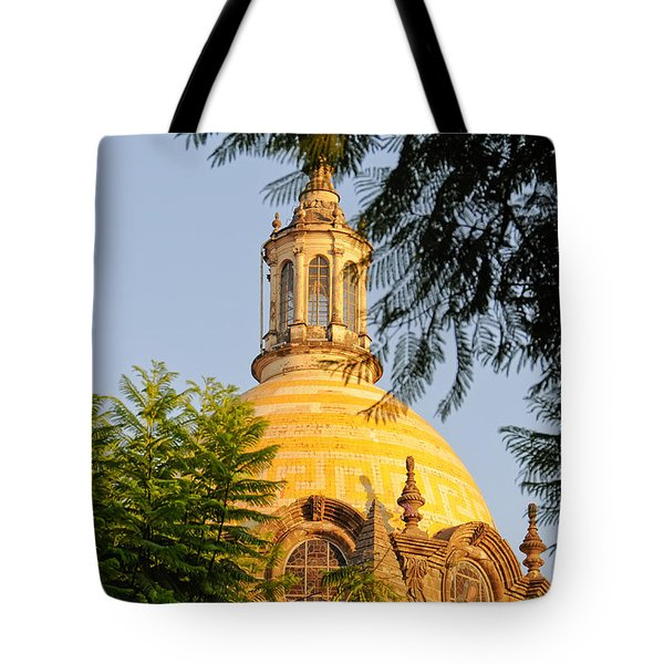 Tote Bag featuring the photograph The Grand Cathedral Of Guadalajara, Mexico - By Travel Photographer David Perry Lawrence by David Perry Lawrence