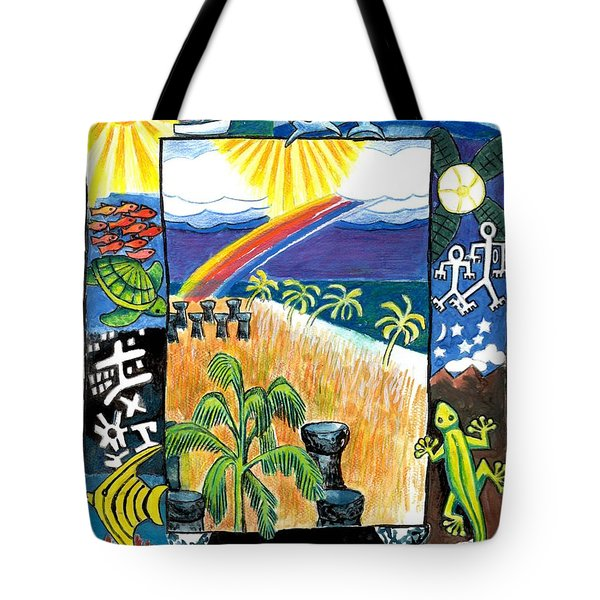 Guam Tote Bag by Genevieve Esson