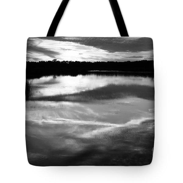 Guana Beach Reflections Tote Bag