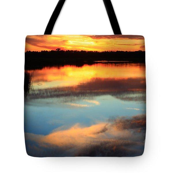 Guana River Sunset Tote Bag