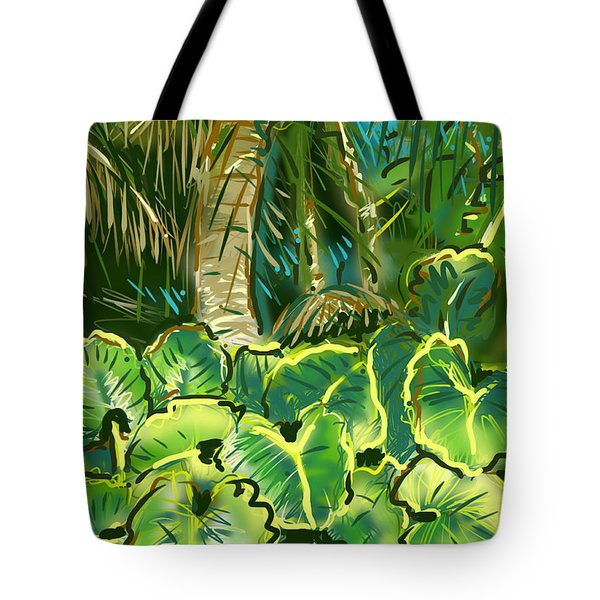 Guanabana Tropical Tote Bag by Jean Pacheco Ravinski