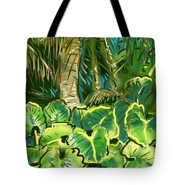 Guanabana Tropical Tote Bag