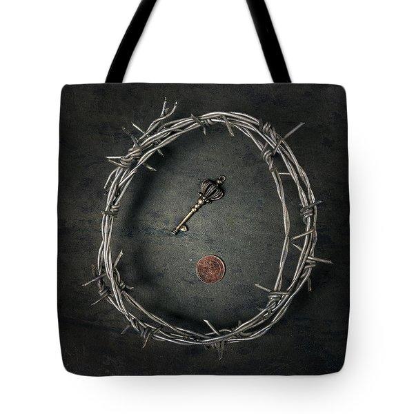 Guarded Treasure Tote Bag by Joana Kruse