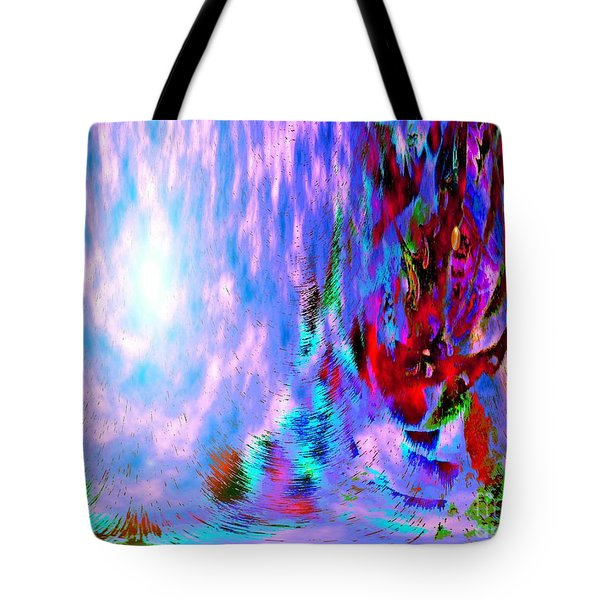 Guardian Angel  Tote Bag by Annie Zeno