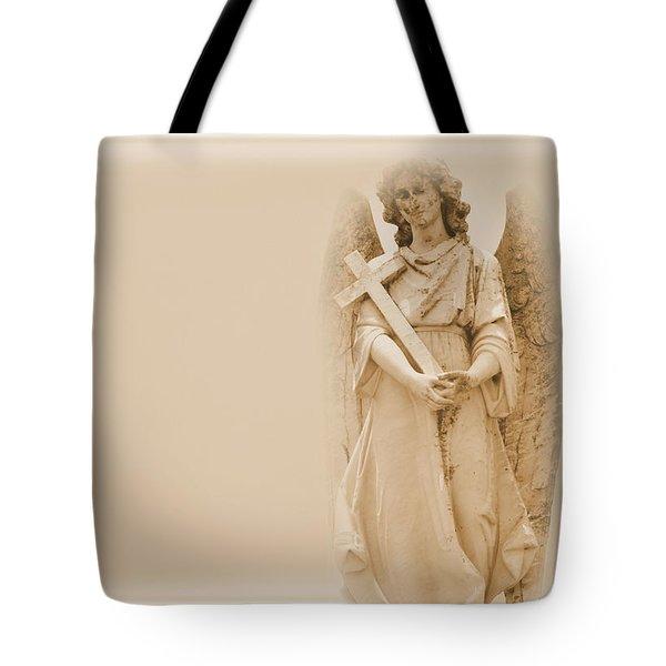 Guardian Angel Tote Bag by Nadalyn Larsen