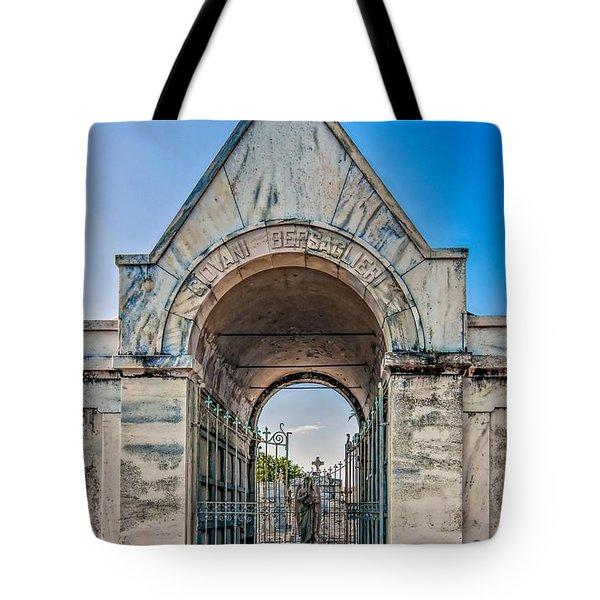 Guardian Angel Tote Bag by Steve Harrington