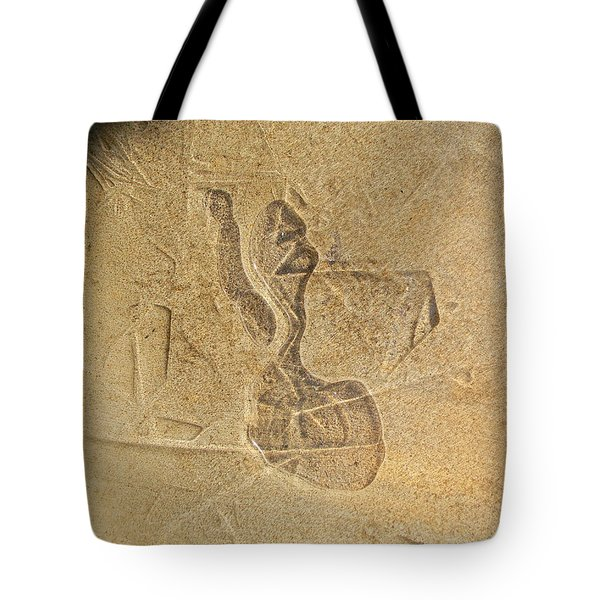 Guardian In The Stone Tote Bag