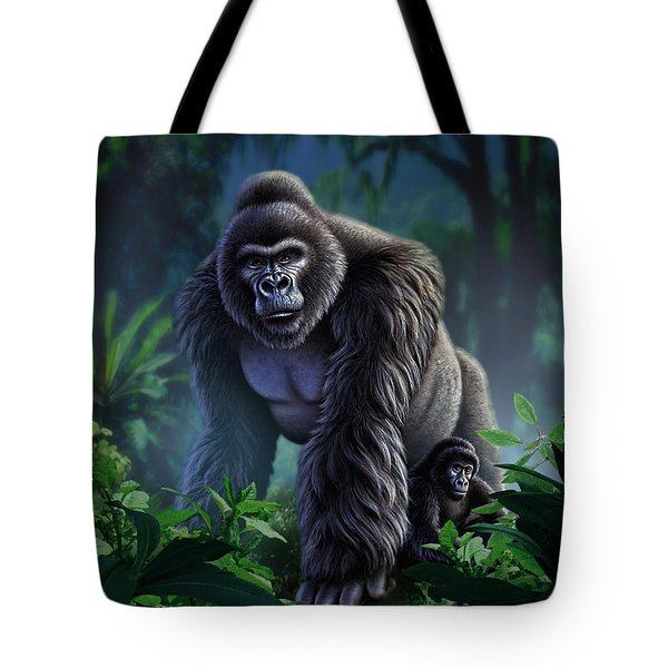 Guardian Tote Bag by Jerry LoFaro