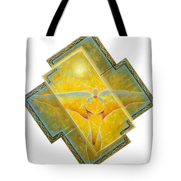 Guardian Of Light Tote Bag
