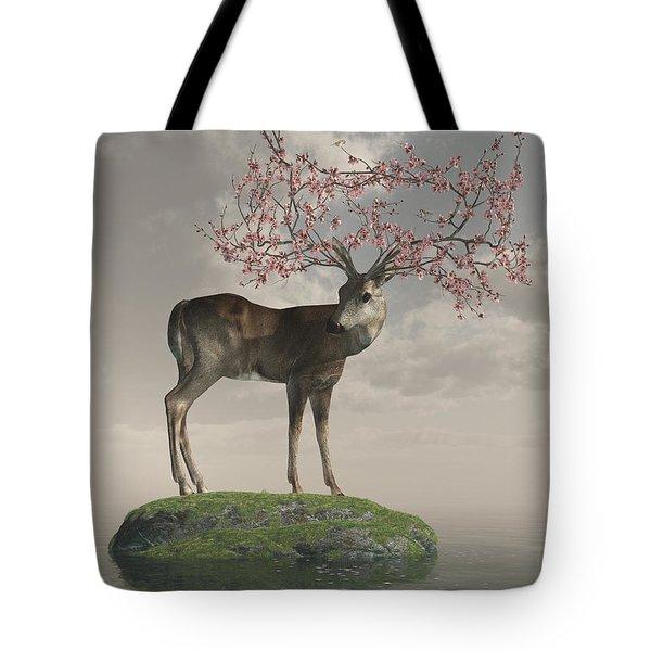 Guardian Of Spring Tote Bag