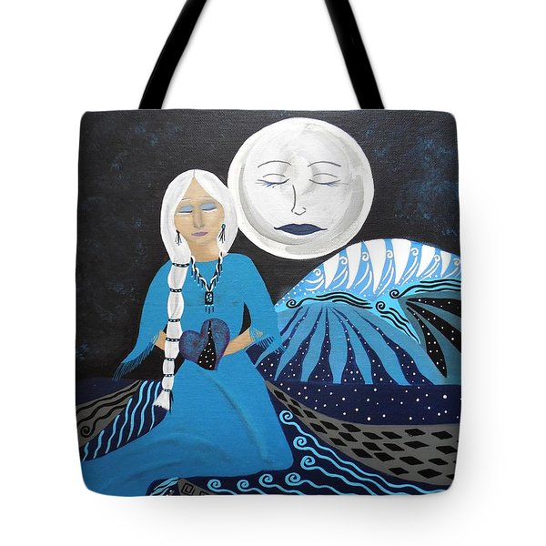 Guardian Of The Dream Time Tote Bag